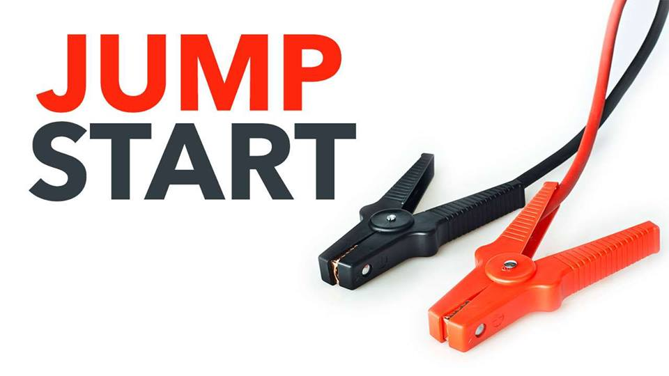 JUMP START A CAR BATTERY THE RIGHT WAY